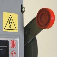 International High Voltage Symbols On A Roll