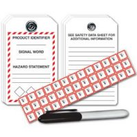GHS Tag/Pictogram Label Kits