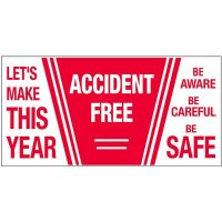 Giant Motivational Wall Graphics - Accident Free