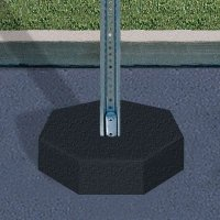 U-Channel Stanchions - Post and Base Only