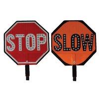 Cortina LED Stop/Slow Sign HIP Paddles