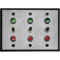 120VAC Three Gang Switch