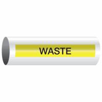 Opti-Code™ Self-Adhesive Pipe Markers - Waste