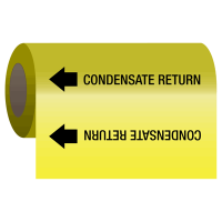 Wrap Around Adhesive Roll Markers - Condensate Return