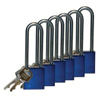 "Brady® Aluminum 3"" Shackle Padlocks"