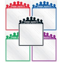 Safety Slogan Mirrors - Family Friends Company Depend On You