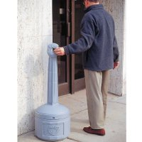 Smokers Cease-Fire™ Cigarette Receptacles