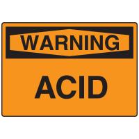 Warning Signs - Warning Acid