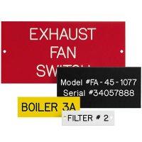 Custom Engraved Phenolic Plastic Nameplates