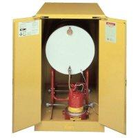 Horizontal Drum Storage Cabinet