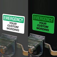 Custom Glow-In-The-Dark Signs