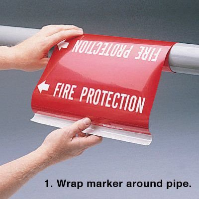 Ultra-Mark® Snap-Around High Performance Pipe Markers - Nitrogen