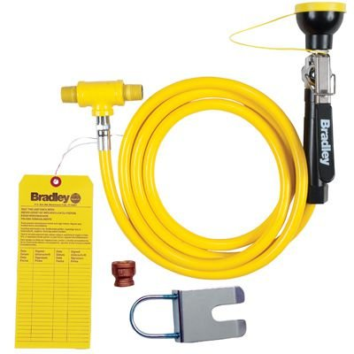Bradley Drench Hose Retrofit Kit for Eyewash Stations