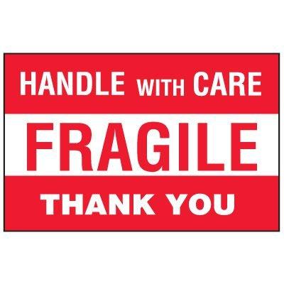 Fragile Labels - Fragile Thank You