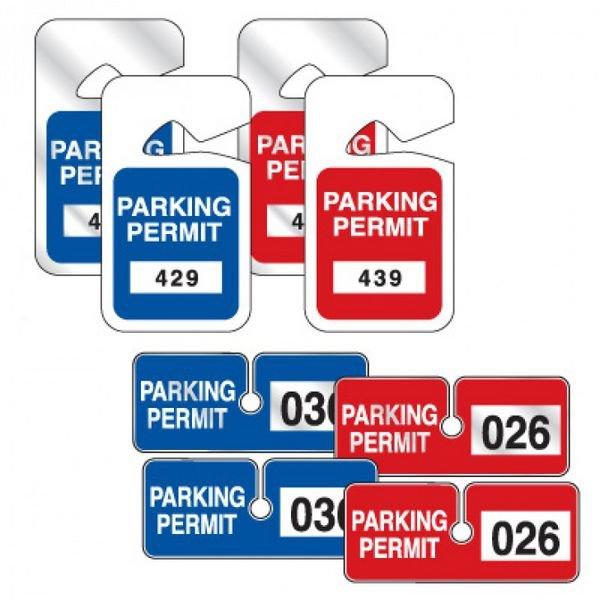 Hang Tag Parking Permit