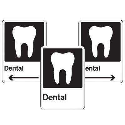 Health Care Facility Wayfinding Signs - Dental