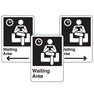 Health Care Facility Wayfinding Signs - Waiting Area