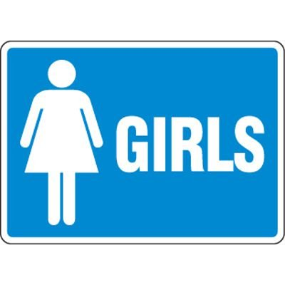 Eco-Friendly Signs - Girls