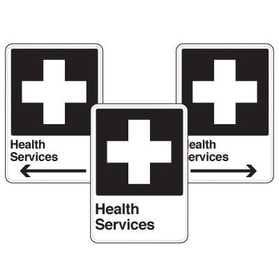 Health Care Facility Wayfinding Signs - Health Services