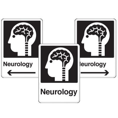 Health Care Facility Wayfinding Signs - Neurology