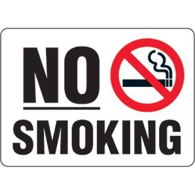 Eco-Friendly Signs - No Smoking