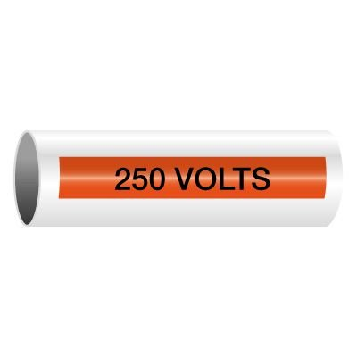 250 Volts - Self-Adhesive Electrical Markers