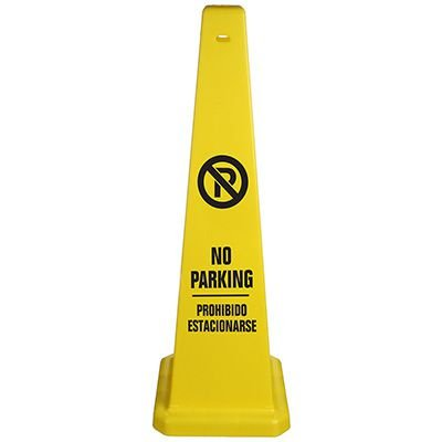 Safety Traffic Cones- No Parking