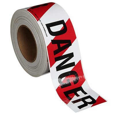 Nadco Danger Message Tape 3X200-SAWT5