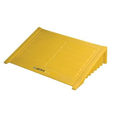 JUSTRITE EcoPolyBlend™ 4-Drum Square Pallet Ramp 28620