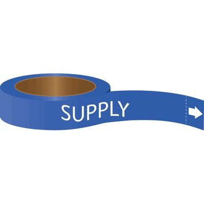 Roll Form Self-Adhesive Pipe Markers - Supply