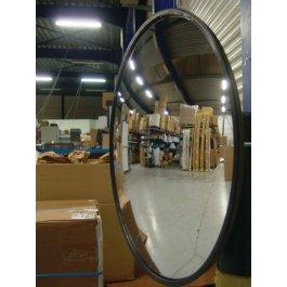 Espejos industriales de media esfera para fijación mural