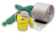 Productos peligrosos, absorbente y antipolución
