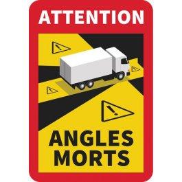 Etiquette d'angle mort pour camion