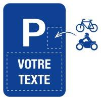 Panneau Parking réservé personnalisable