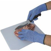 Gants anti-coupure détectables bleus pour milieu alimentaire