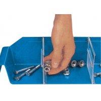 Cloisons pour bacs de manutention compartimentables