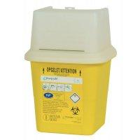 Récupérateur de déchets médicaux à clapet (DASRI)