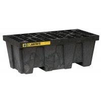 Plate-forme de rétention grande capacité en polyéthylène recyclé