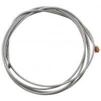 Câble de condamnation en acier pour système à poignée ressort