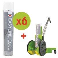 Prix Spécial - Kit de démarrage 6 bombes aérosols de peinture Epoxy + 1 traceur Easyline®
