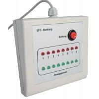 Système de surveillance des issues de secours par radio ou câble