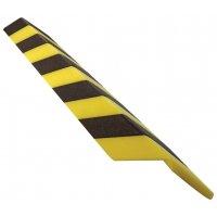 Cornières de protection en mousse polyéthylène noires et jaunes