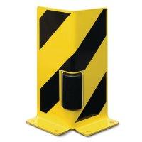 Protection pour montants de rack avec rouleau de guidage