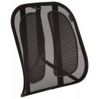 Support dorsal pour chaise de bureau en maille ergonomique