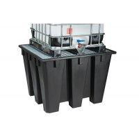 Bacs de rétention plastique recyclé