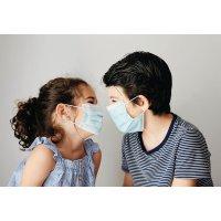 Masque chirurgical pédiatrique type 1 enfants 5 à 12 ans