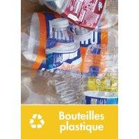 Signalétique recyclage - Bouteilles plastique