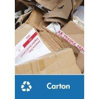 Signalétique recyclage - Carton