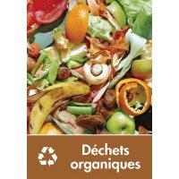 Signalétique recyclage - Déchets organiques