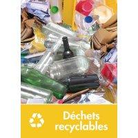 Signalétique recyclage - Déchets recyclables